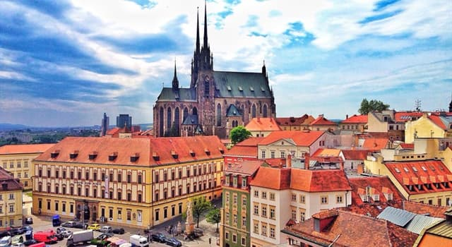 Culture Trivia Question: The bells of which church in Brno are rung at 11 o'clock in the morning instead of 12 noon?