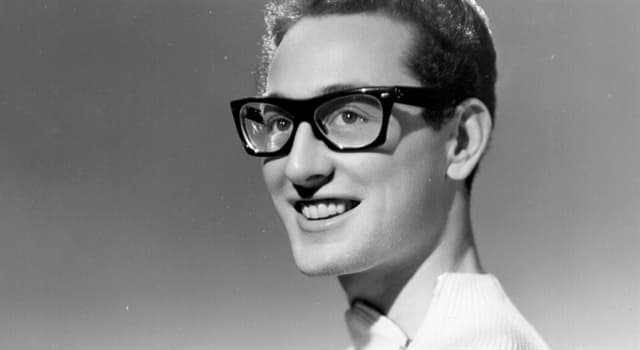 Culture Trivia Question: What was Buddy Holly's current single when he died?