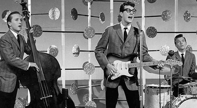 Culture Trivia Question: What was the first name of Buddy Holly?
