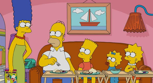 "Movies & TV Trivia Question: What was the name of the Simpson's first cat in the TV animated sitcom ""The Simpsons""?"