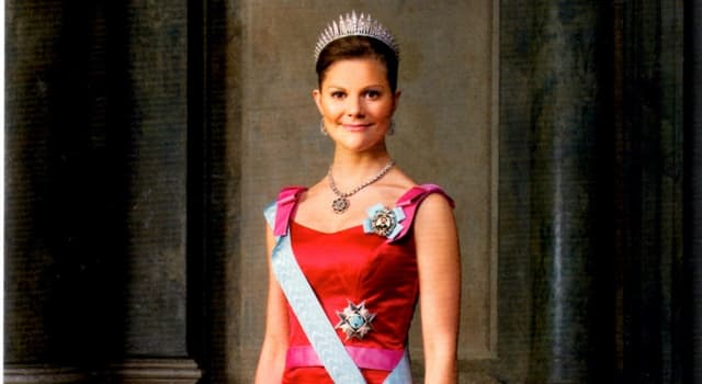 History Trivia Question: When did Victoria, Crown Princess of Sweden, become heir apparent to the Swedish throne?