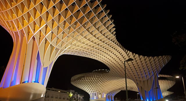 Geography Trivia Question: Where is the wooden structure from the picture located?