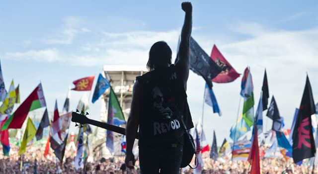 Culture Trivia Question: Where was the first official rock festival held in the Soviet Union?
