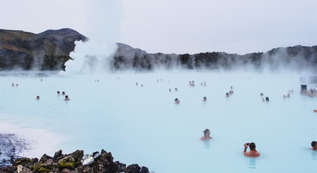 Geography Trivia Question: What is the highest-flow hot spring in Europe?
