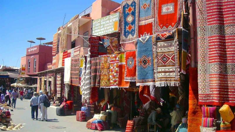 """Geographie Wissensfrage: Welche Stadt in Marokko ist auch als """"Rote Stadt"""" bekannt?"""