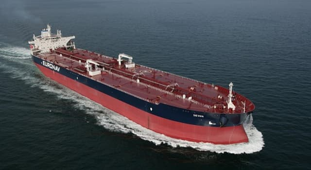 History Trivia Question: Which oil tanker was the first ship in which oil could be pumped directly into the vessel hull?