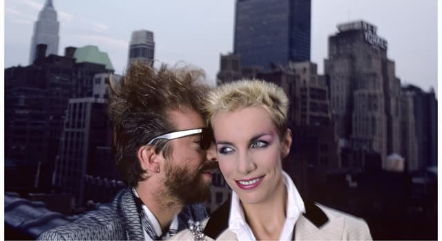 Culture Trivia Question: Which song was the Eurythmics first UK number one?