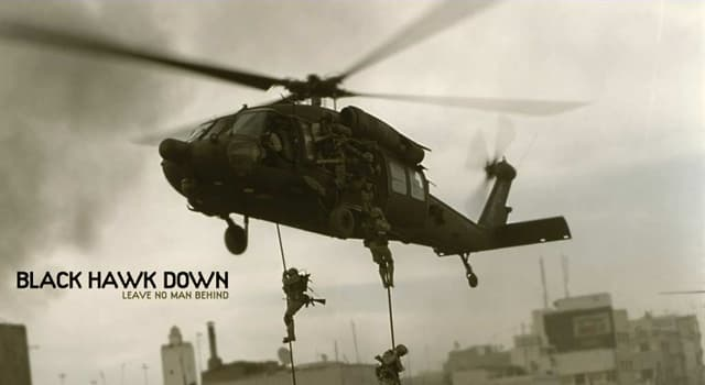 "Movies & TV Trivia Question: Who directed the war film ""Black Hawk Down' (2001)?"
