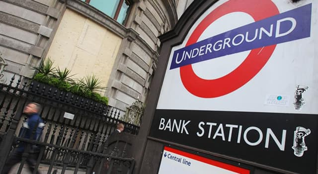 Society Trivia Question: Who is said to haunt the London Underground's Bank Station?