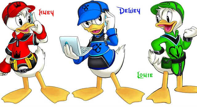 Culture Trivia Question: Who is the mother of Huey, Dewey and Louie?