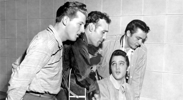 """Culture Trivia Question: Who performed on the drums for the """"Million Dollar Quartet"""" session?"""