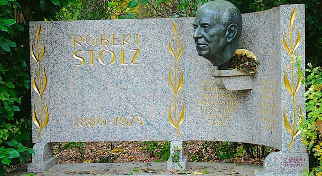 Culture Trivia Question: Who was Robert Stolz?