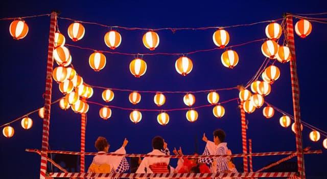 Kultur Wissensfrage: Wie heißt ein buddhistisches Fest in Japan zur Errettung der Seelen der verstorbenen Ahnen?