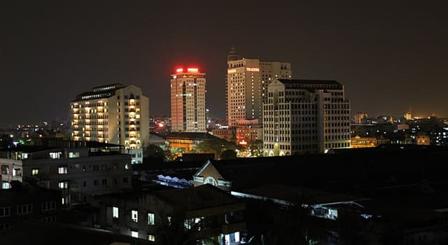Geography Trivia Question: Yangon is the most populous city in which Southeast Asian country?