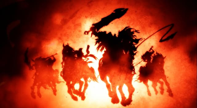 Culture Trivia Question: What color does the horse of the fourth Horseman of the Apocalypse (Death) have?