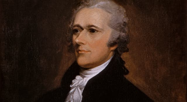 History Trivia Question: Alexander Hamilton was shot by which man in 1804?