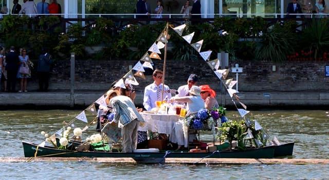 Kultur Wissensfrage: Auf welchem Fluss findet jährlich die Henley Royal Regatta, eine Veranstaltung in England, statt?