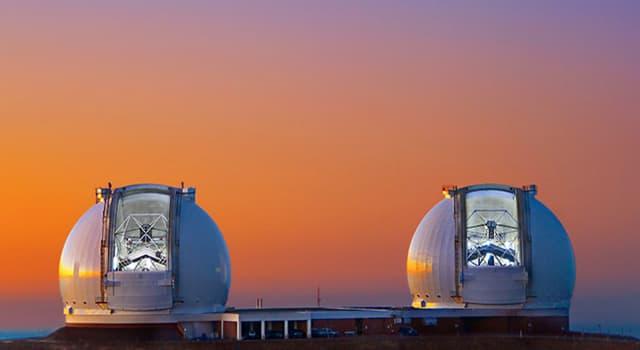 Wissenschaft Wissensfrage: Auf welchem Vulkan befinden sich die größten Zwillingsteleskope der Welt?