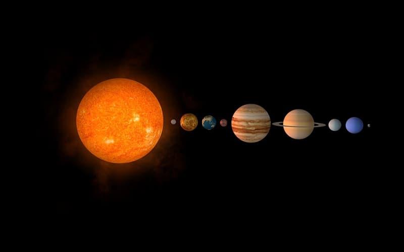 """Сiencia Pregunta Trivia: ¿Cuáles de los siguientes planetas no son """"vecinos""""? (algún otro se interpone entre ellos en el sistema solar)"""