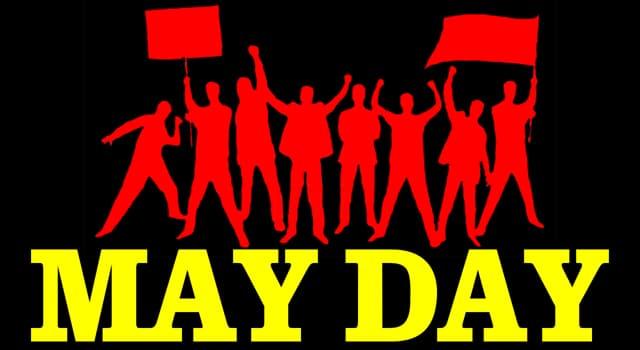 Geschichte Wissensfrage: Der 1. Mai als internationales Arbeiterfest geht auf welches Ereignis von 1886 zurück?