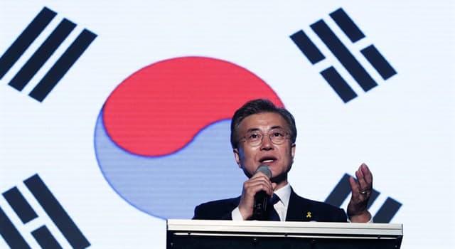 """Geschichte Wissensfrage: Die """"Sonnenscheinpolitik"""" ist Teil von Südkoreas Außenpolitik welchem Land gegenüber?"""