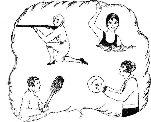 Deporte Pregunta Trivia: ¿En qué competición deportiva participó una mujer en la década de los 20 del siglo pasado?
