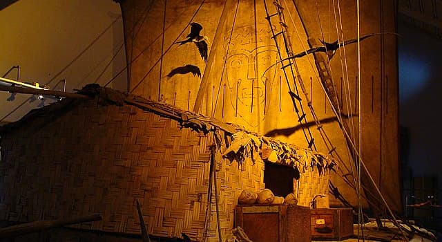 History Trivia Question: How many people took part in the 'Kon-Tiki' expedition in 1947?