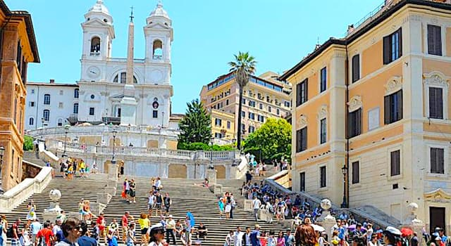 "Culture Trivia Question: How many steps do the famous ""Spanish Steps"" in Rome have?"