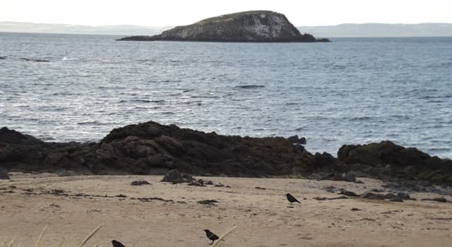 Geography Trivia Question: In 2009, who bought Lamb Island located in the Firth of Forth, Scotland?
