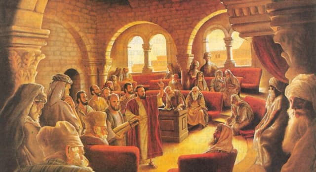 History Trivia Question: In the ancient Land of Israel, what was the supreme council and tribunal?