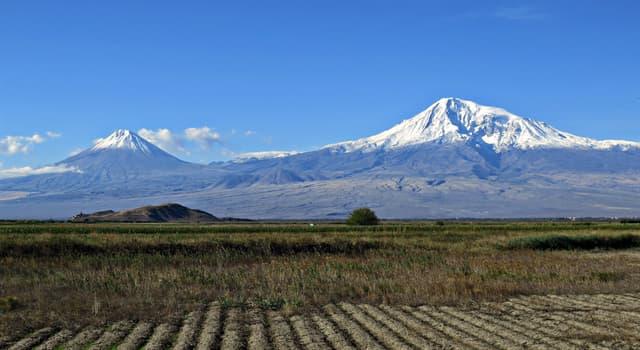 Geographie Wissensfrage: In welchem Land befindet sich der Berg Ararat, an dem die Arche Noah gestrandet ist?