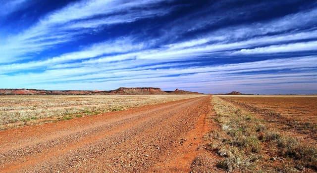 Geographie Wissensfrage: In welchem Land liegt die Gibsonwüste?