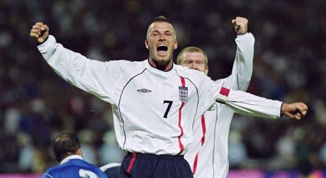 Sport Trivia Question: In which British city was footballer David Beckham born?