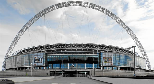 Geography Trivia Question: In which city is Wembley Stadium?