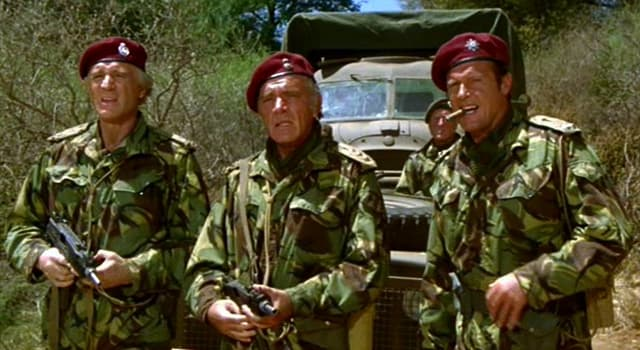 Movies & TV Trivia Question: In which film are Richard Burton and Roger Moore mercenaries hired to restore a diposed leader?