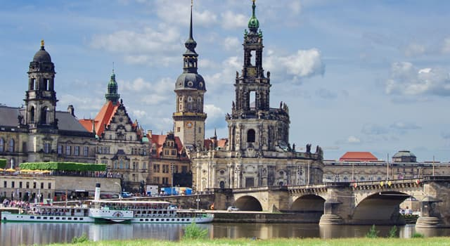Geography Trivia Question: On which river is Dresden, Germany, located?