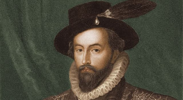 History Trivia Question: Sir Walter Raleigh led two expeditions in search of which land?