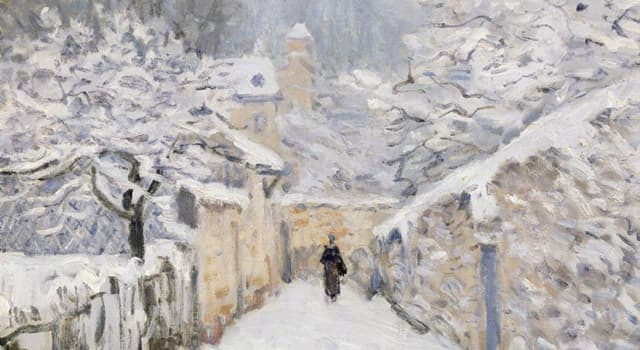 Culture Trivia Question: The following painting is by which impressionist artist?