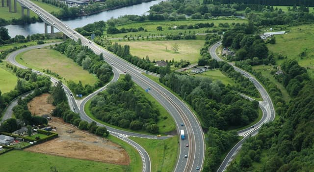 Geography Trivia Question: The M90 is the most northerly motorway in the United Kingdom; which city is at its northern end?