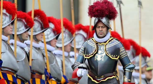 Culture Trivia Question: The Pontifical Swiss Guard is an armed forces serving in which country?