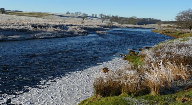 Geography Trivia Question: The River Ribble rises in what part of the Pennines in northern England?
