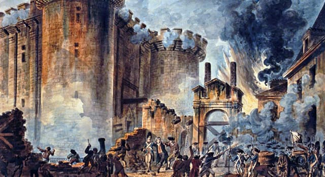 History Trivia Question: The storming of the Bastille was a part of which historical event?