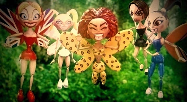 Culture Trivia Question: The video to which Spice Girls song has them as animated fairies?