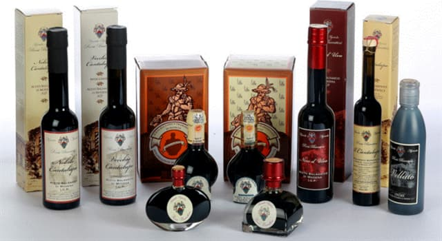 Culture Trivia Question: Traditional Balsamic Vinegar has to be aged for a minimum of how many years?