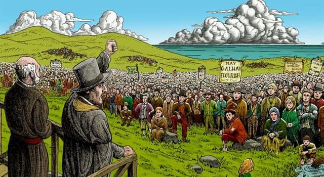 """Gesellschaft Wissensfrage: Wecher irische Politiker war auch als """"The Liberator"""" (der Befreier) bekannt?"""