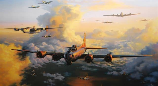 Film & Fernsehen Wissensfrage: Welcher dieser Filmstars war ein Kriegsbomberpilot?