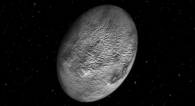 Wissenschaft Wissensfrage: Welcher Zwergplanet ist der am schnellsten rotierende Gleichgewichtskörper im Sonnensystem? (2019)