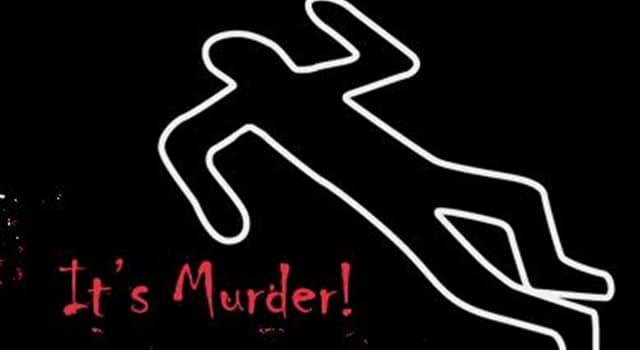 Gesellschaft Wissensfrage: Wer ist die erste tatsächliche Person, die im Live-Fernsehen ermordet wurde?