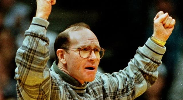 Sport Trivia Question: What is Dan Gable famous for?