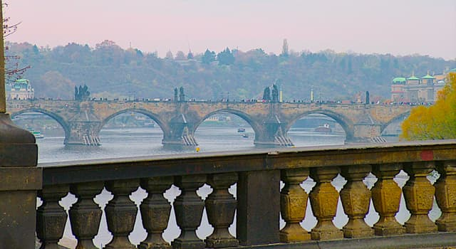 Culture Trivia Question: What is the name of the oldest preserved bridge on the Vltava River in Prague?